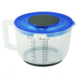 MEASURING GLASS WITH LID 2L