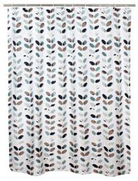 SHOWER CURTAIN 180X180CM, POLYESTER