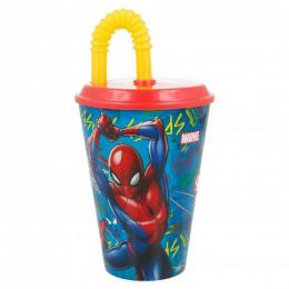 KELÍMEK S BRÈKEM SPIDERMAN 430 ML, PLAST